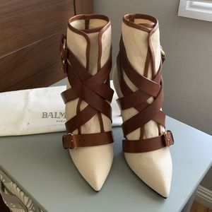 Balmain booties